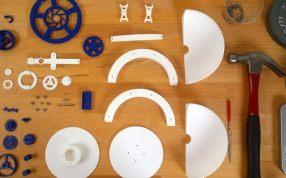 3D打印的三軸陀飛輪