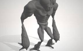 蒼蠅人模型
