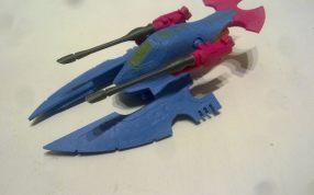 玩具歼击机三维模型