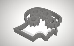 齿轮大脑模型