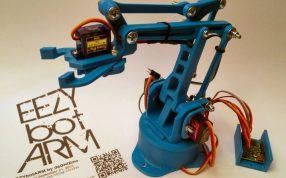 3DPrinted机器人手臂