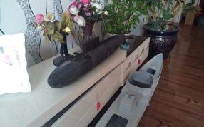 基洛级潜艇1/100模型