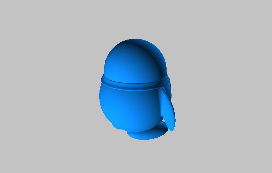 QQ企鹅造型