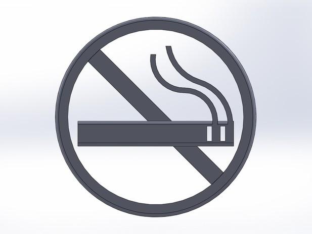 禁止吸烟警示牌