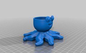 个性章鱼模型